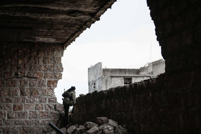 Dans la province d'Alep le 27 avril.