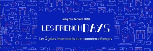 Beaucoup de sites affichent actuellement, comme ici boulanger.com, une bannière faisant la promotion des « French Days ».