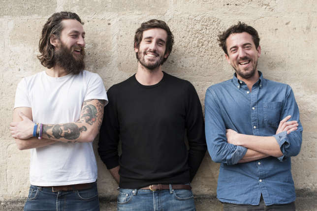 Les trois fondateurs de Wanted. De gauche à droite, Christian, Jérémie et Luc.