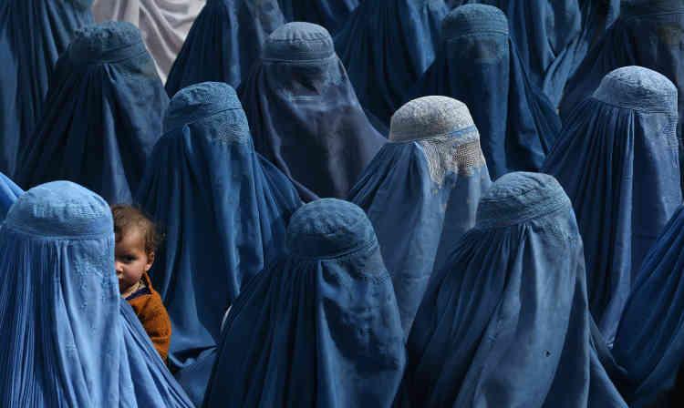 Photo prise le 18 février 2014, à l'occasion d'un meetingà Jalalabad du candidat à l'élection présidentielle, Abdullah Abdullah, qui remportera le scrutin quelques mois plus tard.