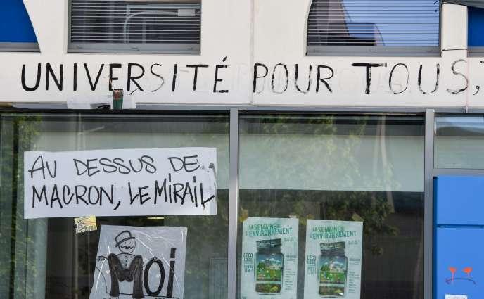 L'université Jean-Jaurès à Toulouse, le 30 avril.
