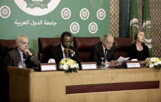 En décembre 2017, les ministres de la Ligue arabe avaient qualifié la reconnaissance de Jérusalem comme capitale d'Israël d'un « assaut clair » contre la nation arabe.