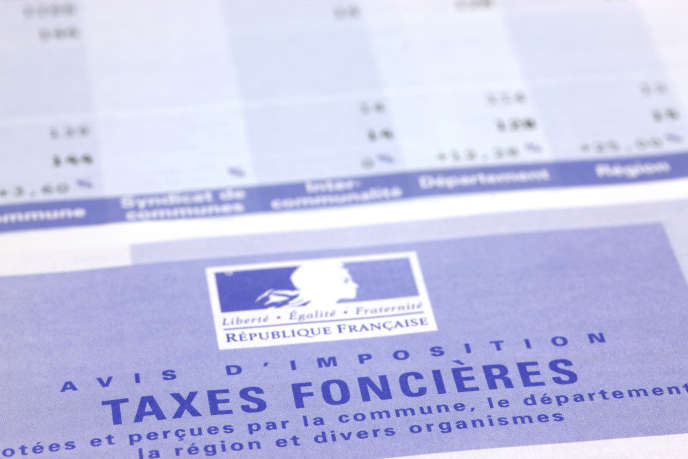 La Taxe Fonciere Sur Des Sables Mouvants