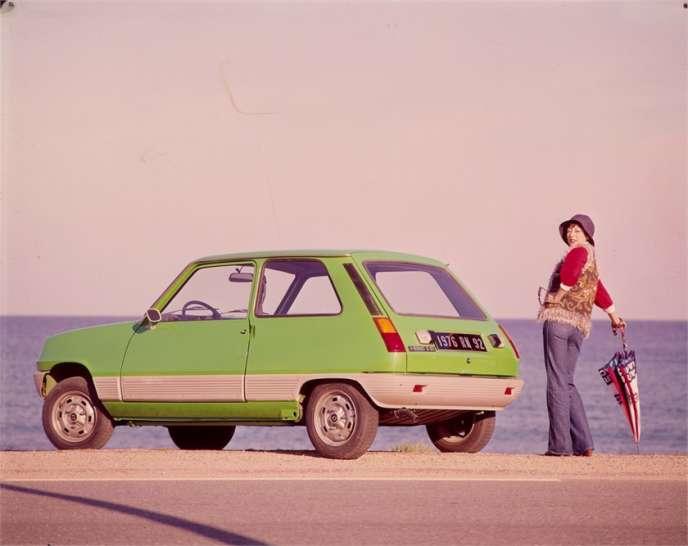 Le premier modèle de Renault 5, en 1972, avec ses coloris pop.