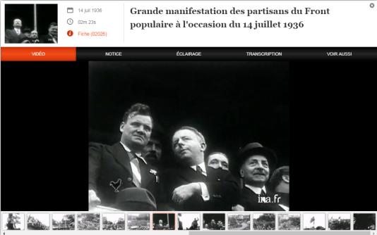 Le site INA Jalons met à disposition de nombreuses vidéos d'archives pour mieux comprendre une période historique
