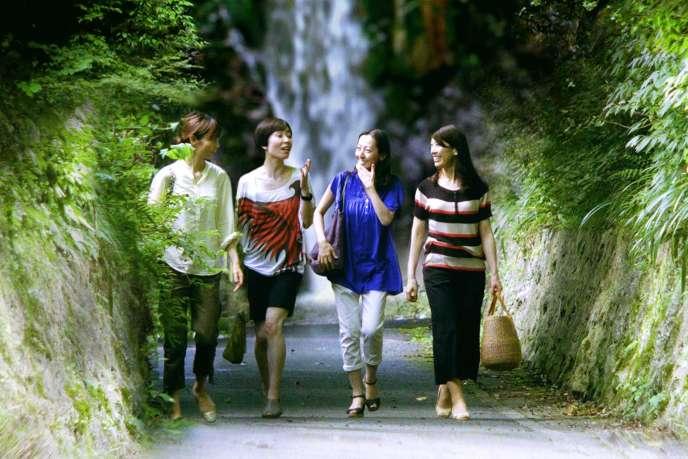 Hazuki Kikuchi, Maiko Mihara, Rira Kawamura et Sachie Tanaka dans« Senses».