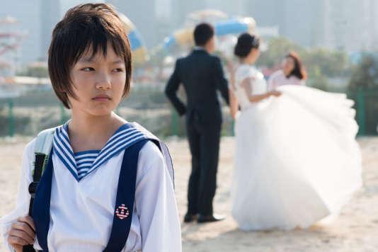 Zhou Meijun interprète Wen, une des deux jeunes filles agressées sexuellement.