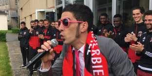 David Billaud, aka Papa Cake, supporteur et fin stratège du Vendée Les Herbiers Football.