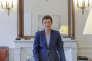 Nicole Klein, dans son bureau à la préfecture, le 27 avril.