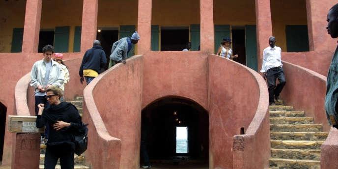 La maison des esclaves sur l'île de Gorée, au large de Dakar, au Sénégal, en 2004.
