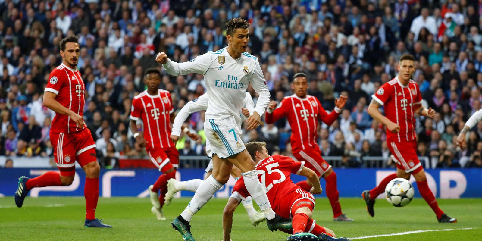 Le Real et le Bayern s'affrontent mardi en Ligue des champions.