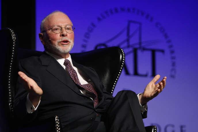 Paul Singer, fondateur et PDG du fonds d'investissement Elliott, qui s'oppose à Vincent Bolloré au conseil d'administration de Telecom Italia.