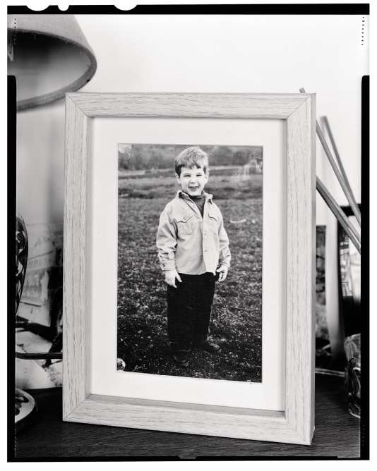 Une photo de Vincent Lacoste enfant.