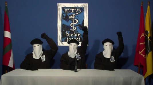 En 2011, l'ETA avait déjà annoncé vouloir mettre fin à la violence armée.