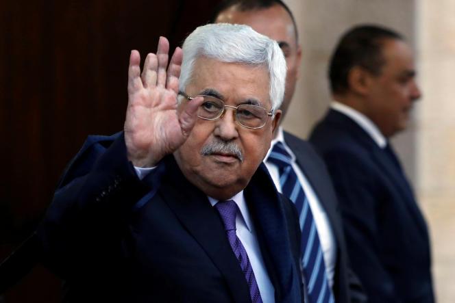 Le président palestinien, Mahmoud Abbas, à Ramallah, le 1er mai.