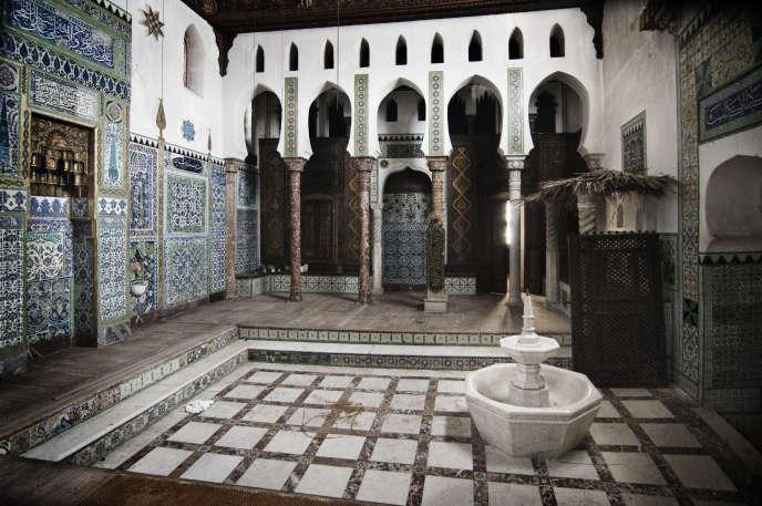 La mosquée dans la maison de Pierre Loti, à Rochefort, (Charente-Maritime), en 2015.