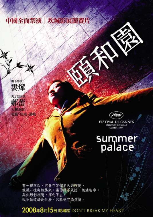 Lou Ye, réalisateur chinois de«Summer Palace».