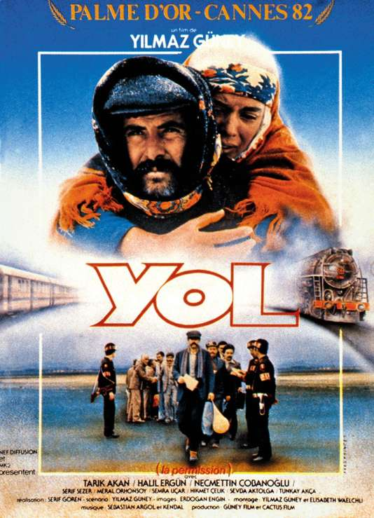 Yilmaz Güney, réalisateur de« Yol», Palme d'or en 1982.