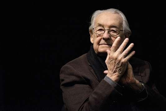 Andrzej Wajda, réalisateur polonais de«L'Homme de marbre ».