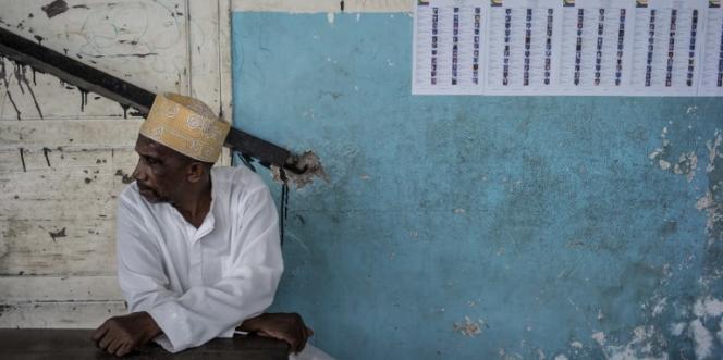 A Moroni, aux Comores, en 2015.