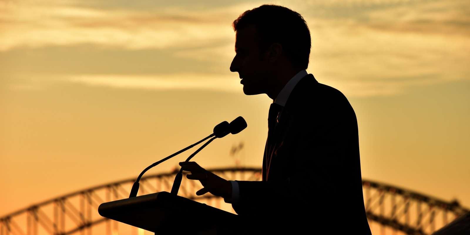 Emmanuel Macron, à Sydney, le 2 mai.