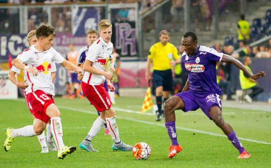 Match du SV Austria Salzburg contrele FC Liefering (la reserve du Red Bull Salzbourg).