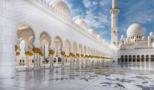 La mosquée Sheikh Zayed est l'une des merveilles d'Abou Dhabi.