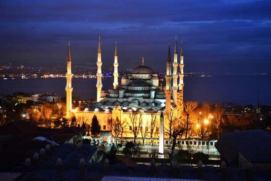 L'incontournable mosquée bleue, à Istanbul.