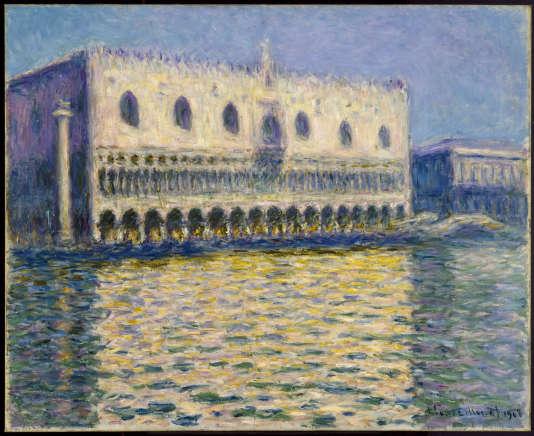 «Le Palais ducal» par Claude Monet, 1908.
