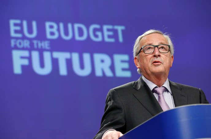 Jean-Claude Juncker, le président de la Commision européenne, à Bruxelles, le 2 mai.