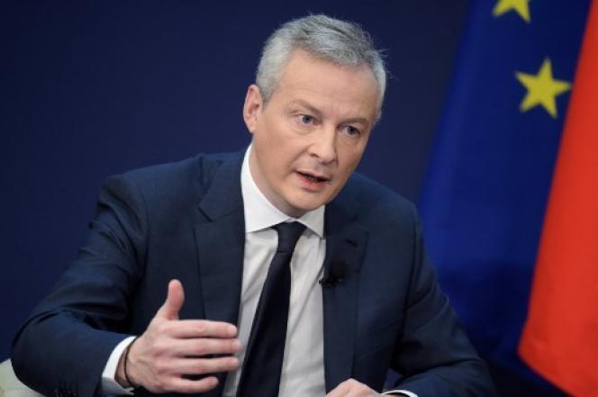 Bruno Le Maire, ministre de l'économie, le 15 février.