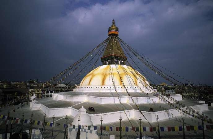 Le stupa de Bodnath est l'un des plus grands au monde.