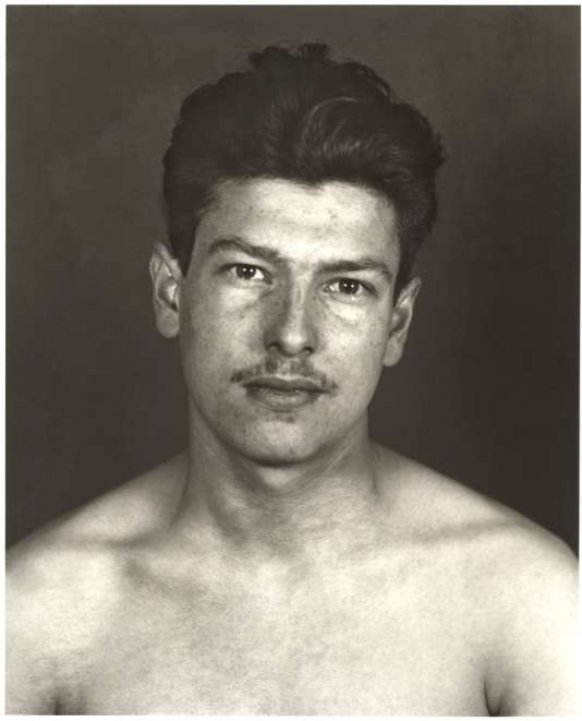 «Prisonnier politique »(Marcel Ancelin), 1943. Une photographie de Erich Sander et August Sander.