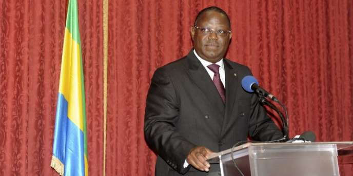 Le premier ministre gabonais,Emmanuel Issoze Ngondet, à Libreville, en septembre 2016.
