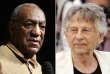 Bill Cosby, reconnu coupable d'agression sexuelle, et Roman Polanski, qui avait admis avoir eu des relations sexuelles avec une adolescente de 13 ans.