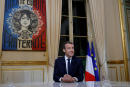 FILE PHOTO: French President Emmanuel Macron is seen before his first long live television interview on prime time at the Elysee Palace in Paris, France, October 15, 2017. REUTERS/Philippe Wojazer/File Photo