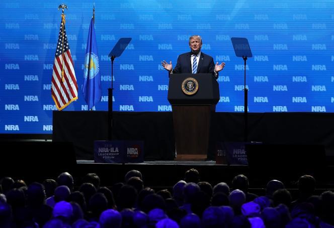 La convention annuelle de la National Rifle Association (NRA) s'est tenue dans la ville texane de Dallas le 4 mai.