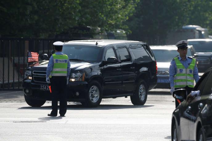 L'ambassade des Etats-Unis en Chine a émis, mercredi 23 mai, une alerte sanitaire pour mettre en garde les ressortissants américains.
