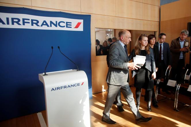 Jean-Marc Janaillac, le 4 mai 2018 à Paris.