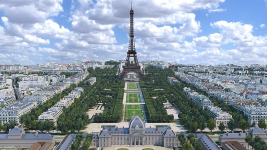 Le périmètre du projet de nouvel accueil du « Grand site tour Eiffel » englobe le Trocadéro, le quai Branly, l'Ecole militaire et Bir-Hakeim.