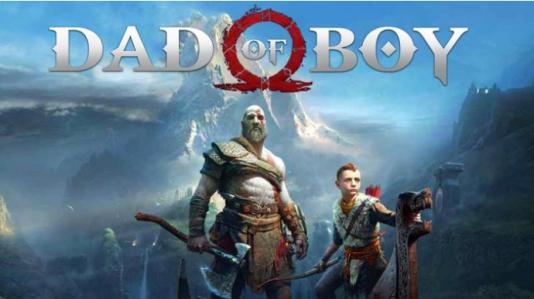 Pour les Internautes,« God of War» est devenu« Dad of Boy» (« Le papa de Garçon», en référence à la manière dont le héros Kratos appelle son fils).