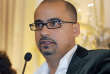 """FILE - This Oct. 17, 2008, file photo shows novelist Junot Diaz during a book presentation in New York. Diaz is facing allegations of sexual misconduct from a fellow author. Zinzi Clemmons, author of """"What We Lose,"""" tweeted Friday, May 4, 2018, that the Pulitzer Prize winner forcibly kissed her while she was a graduate student. (AP Photo/Julie Jacobson, file)"""