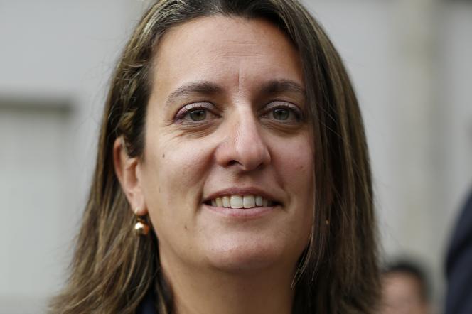 Perrine Goulet à Paris, en mai 2017.