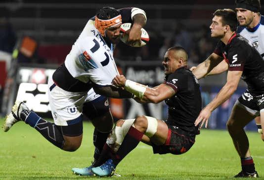 Les Lyonnais ont arraché les barrages en dominant Montpellier en fin de match (32-24).