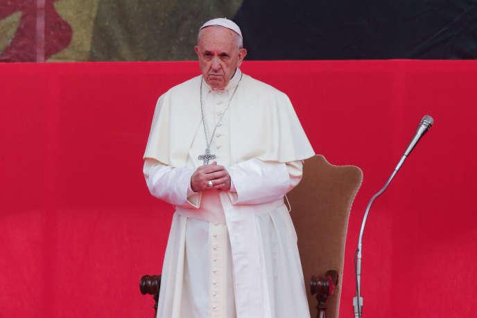 Le pape François, à Rome, le 5 mai 2018.