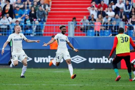 Monaco peut remercier Moussa Sylla, auteur d'un doublé à Caen.