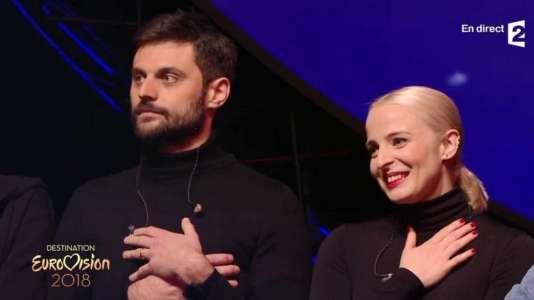 Le duo Madame Monsieur défendra les couleurs de la France à Lisbonne, le 12 mai.