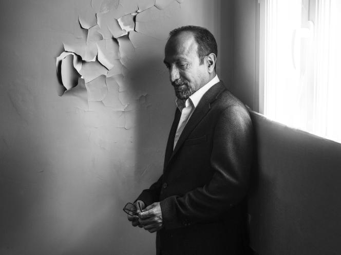 Asghar Farhadi à Paris, le 3 mai 2018.