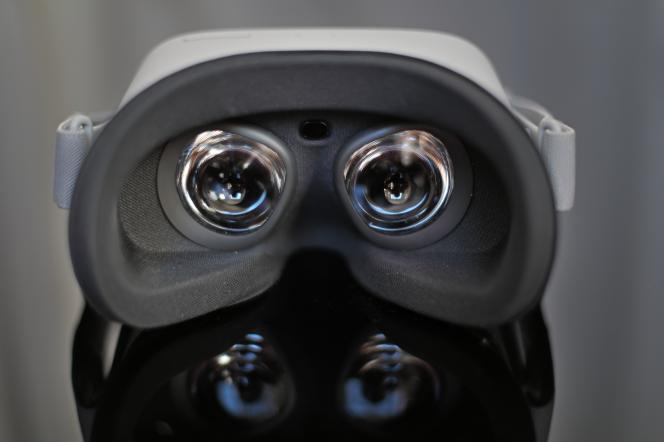 L'intérieur du casque OculusGo.