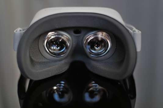Les lentilles et l'écran de l'Oculus Go ont été particulièrement soignés.